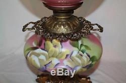 100% Original JumboGWTW Gone with the Wind Banquet Oil Lamp