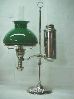 1870's Manhattan Student Oil Lamp, All Original, Near Mint Cond