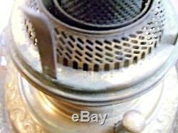 ANTIQUE BRADLEY & HUBBARD OIL LAMP LATE 1800's 1222-13