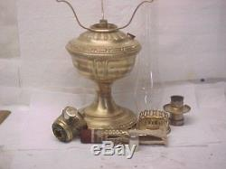 Aladdin Model 7 Oil Lamp, Excellent Cond, No. 7 Generator. With Org. 401 Shade