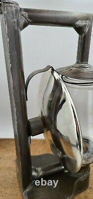 Antique 1867,68 patented Tubular side lamp No. 1 globe early DIETZ 17 LANTERN