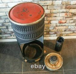 Antique 1910's ARDENT Heater Lamp Sepulchre kerosene Oil Stove Burner Cooker