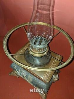 Antique Aesthetic Parker Oil Lamp