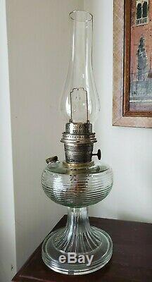 Antique Aladdin Beehive Oil Kerosene Lamp with Model B Burner