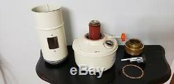 Antique Aladdin Kerosene Paraffin Oil Space Heater Stove Blue Flame Vintage Lamp
