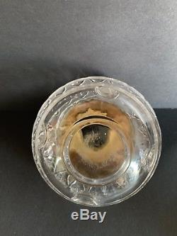 Antique Applesauce Adam's Temple Oil Kerosene Glass Lamp With Original Fitted Font