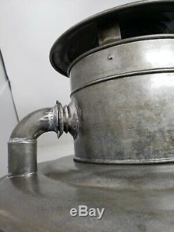 Antique DIETZ No. 3 Tubular Street lamp lantern post NEAR MINT CLEAN