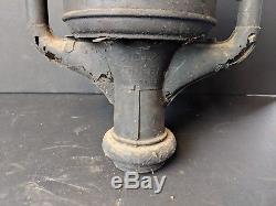Antique Dietz Pioneer Street Oil Lamp Pole Lantern Light BARN FIND