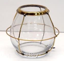 Antique Holmes Booth & Haydens Hb&h Skaters Lantern Kerosene Oil Lamp