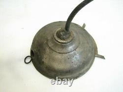 Antique Little Beauty Student Wall Sconce Oil Lamp Lions' Head Beehive Globe