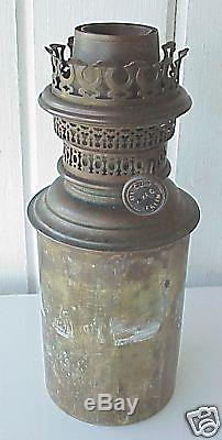 Antique Nautical Ship Gimbal Oil Lamp Gothenburg Sweden