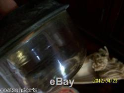 Antique Ornate Metal Kosmos Brenner Burner Oil Lamp un-used Original Wick