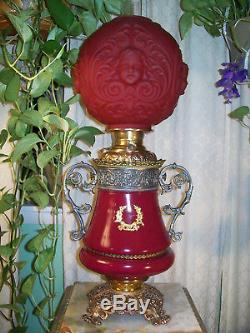 Antique''miller'' Banquet Oil Lamp