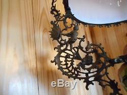 Beautiful 4ft Antique Figural Hanging Chandelier Kerosene Oil Light Lamp Amazing