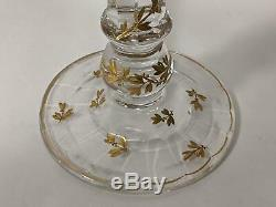 Clark's Cricklite Glass Fairy Lamp Two Arm Candelabra ALL ORIGINAL