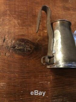 Coal Miners Oil Wick Lamp Candlestick Light Mining Blasting Patd Husson