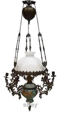 DUTCH HANGING OIL LAMP, 19th Century (1800s)
