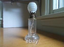 Grand Val's Pride Of America Time Indicating Oil Lamp Dated 1873 All Original