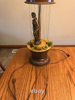 Greek goddess rain oil lamp
