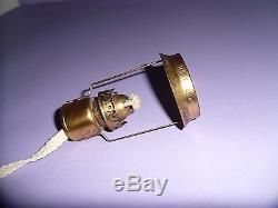LCT TIFFANY FAVRILE original Twilight oil lamp withshade marked LCT