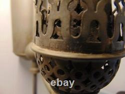 Manhattan Brass Co Student Task Lamp Light, Oil Burning