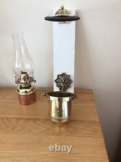 Maritime gimbal Oil Lamp