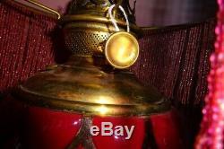 Pittsburgh Success Banquet Lamp Original Pristine Condition