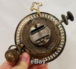 Rare Antique HINKS'S Duplex Oil Lamp Burner