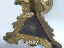 Rare Fine Antique Bronze Cornelius Astral (Or Solar) Oil Lamp No Shade