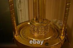 Rare Large Antique Vintage 1960s' Oil Rain Floor Lamp