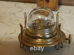 Rare bing antique oil lamp burner in mint condition #1 treads estate find