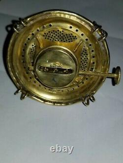 Rare bing antique oil lamp burner in mint condition #2 treads estate find