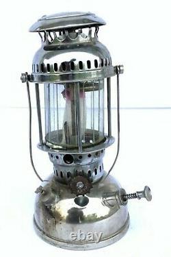 SOLEX PETROMAX Original Lamp Antique Collectible Kerosene Oil Vintage Lantern