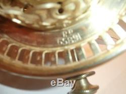 Superb Original Working Hinks Boler Rd 65891 Oil Lamp Burner (new Wicks 3)