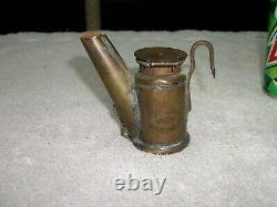 TRETHEWAY BROTHERS ANTIQUE VINTAGE MINERS LAMP OIL WICK Oilwick /Not Carbide