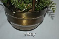Vintage ANTIQUE Brass 20 HANGING Mineral Oil Nude GREEK GODDESS RAIN LAMP USA