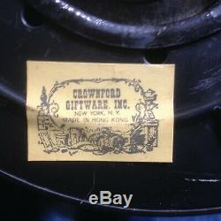 Vintage Hong Kong Nautical Oil Lamps Copper Lantern Starboard & Port